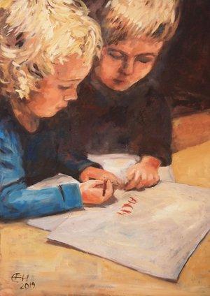 I'll show you how to write