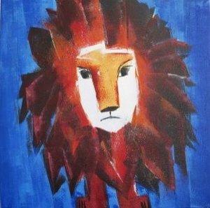 König Löwe - allein