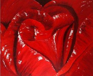 Herzrosen oder Königin der Blumen