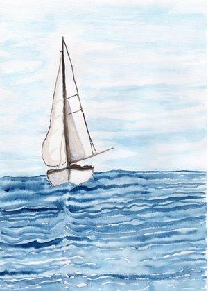 Segeln im Wind