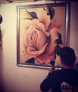 Rose 100x80