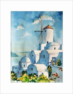Impressionen auf Santorin