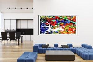 abstrakte Komposition K13
