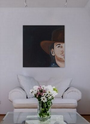 Mann mit Hut 1