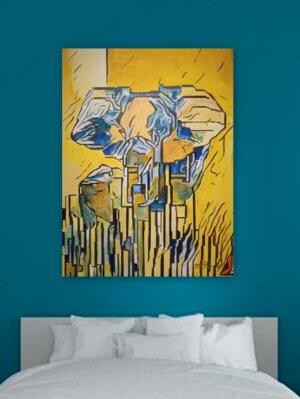 Wanderung der Elefanten