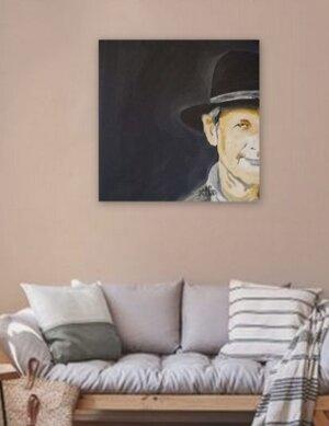 Mann mit Hut 3