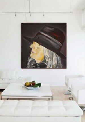 Frau mit Hut 4