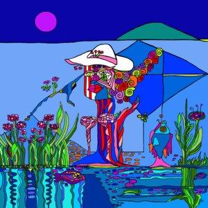 Mit weißem Hut zum Tanz (Heimweg) gehen und sich Einen angeln.